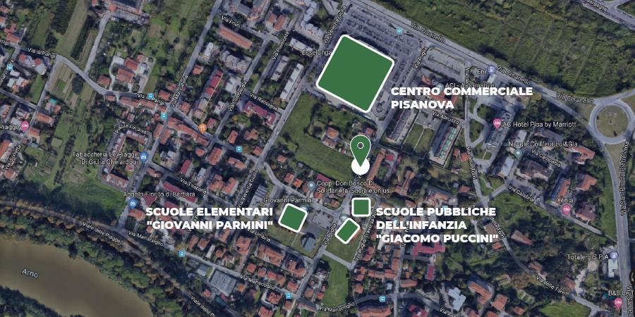 CASE IN VENDITA PIAGGE CISANELLO PISA